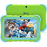 7 inch Android 7.1 Kids Tablet IPS HD Screen 1GB/16GB Babypad Edition PC WiFi Camera Games Google Play Store Bluetooth Supported Kids-Proof Case GMS Certified iRULU Y57 (Green)