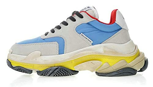 Balenciaga Triple S 2.0 Trainers Sky Blue Grey Zapatillas de Running para Hombre Mujer: Amazon.es: Zapatos y complementos