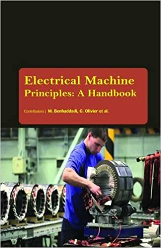 Electrical Machine Principles : A Handbook