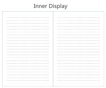 YNIME Cuaderno Planificador Cuaderno s Agenda Agenda semanal ...