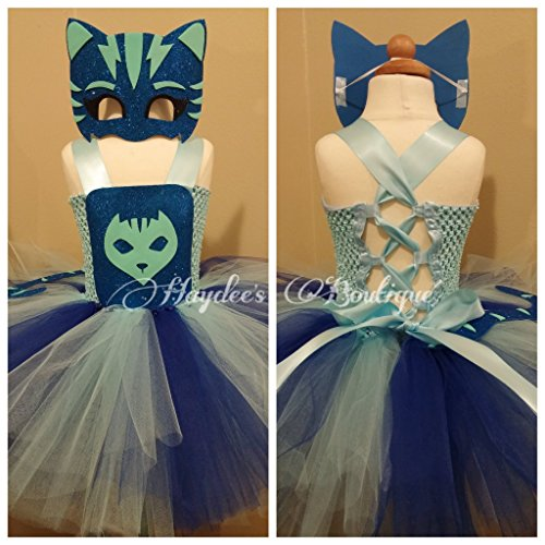Cat Girl Tutu Dress Set by Haydee's Boutique