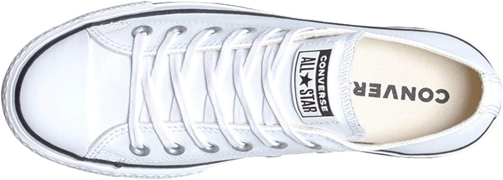 Converse Ctas Lift Clean Ox BlackWhite, Scarpe da Ginnastica Basse Donna