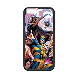 X-Men Design Solid Rubber Customized Cover Case for iPhone 6 plus 5.5