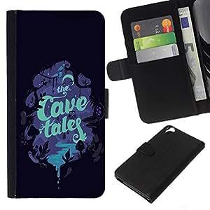 All Phone Most Case / Oferta Especial Cáscara Funda de cuero Monedero Cubierta de proteccion Caso / Wallet Case for HTC Desire 820 // Children'S Book Cover Read Tales Night