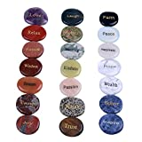 TGS Gems Natural Engraved Inspirational Stones