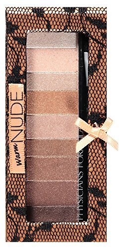 (Physicians Formula Shimmer Strips Custom Eye Enhancing Shadow and Liner, Warm Nude Eyes, 0.26 oz.)