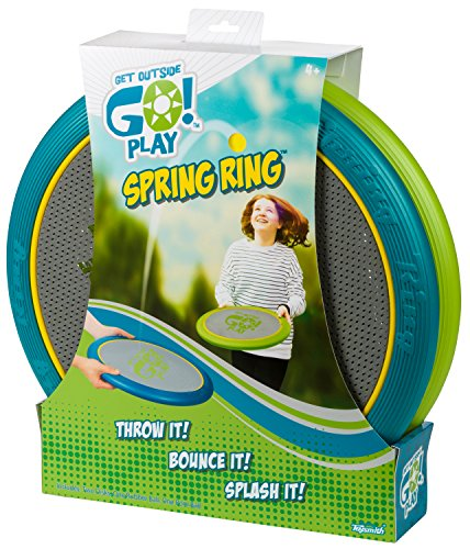 Toysmith Get Outside GO! Spring Ring