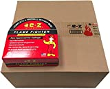 EZ Taping System Flame Fighter Drywall Fire Tape - 12-Pack Case - Self Adhesive 250' x 1.89''