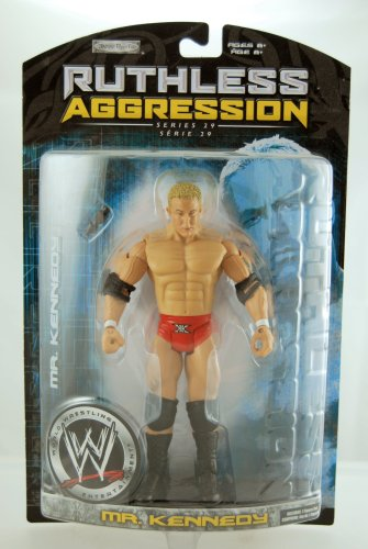 WWE - 2007 - Ruthless Aggression Series 29 - Mr. Kennedy Action Figure - w/ M...