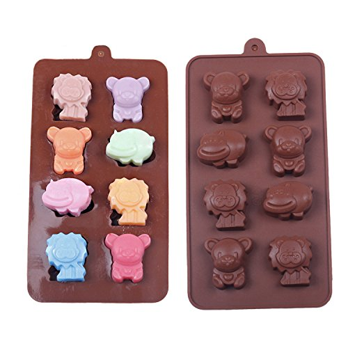 WYD Silicone Shaped Chocolate Animal