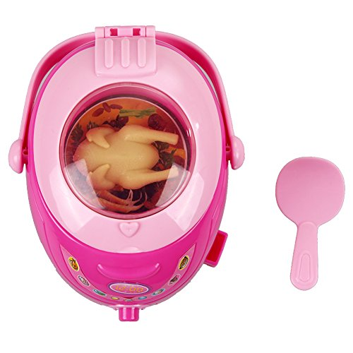 Brightric Rice Cookers Toys for Kids Pretending Role Play Educaitonal Toy Girls Gifts ()
