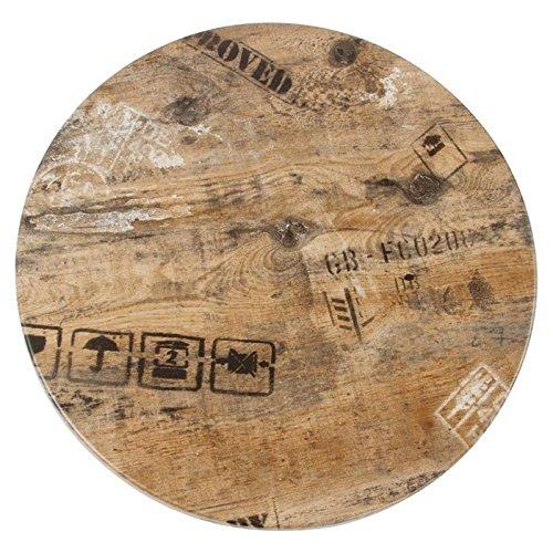 2x Tablero de mesa Werzalit - EX WORKS-122, 70 cms de diámetro ...