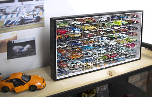 Hot Wheels Toy Car Holder Case : Hot wheels display ideas to diy moms and crafters