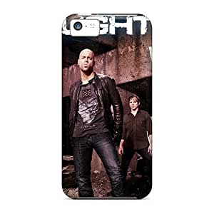 Shockproof Hard Phone Cover For Iphone 5c (hpW19066HhqB) Custom High Resolution Linkin Park Band Pattern