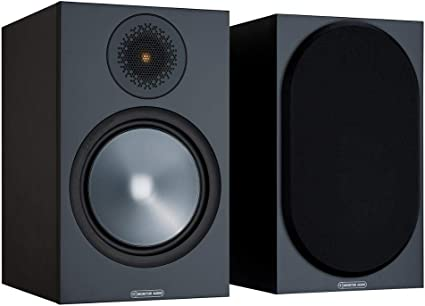 Amazon.com: Monitor Audio Bronze 100 - Altavoz para estantería (2