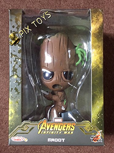 Hot Toys COSBABY PLAY GAMES GROOT VERSION GUARDIANS OF THE GALAXY 2 AVENGERS 3 INFINITY WAR MARVEL DISNEY