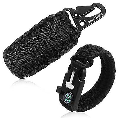 Sahara Sailor Paracord Survival Grenade Kit Set