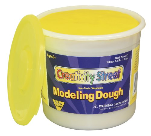 yellow-modeling-dough-33-lb