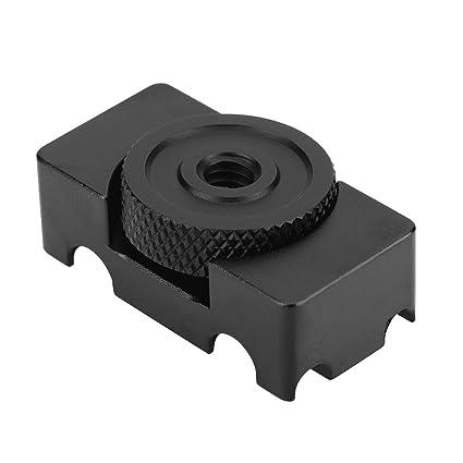Pomya Camera Cable Lock Clamp Aluminum Alloy Tether DSLR Camera Digital USB Cable Lock Clip Clamp Protector for Most DSLR Cameras