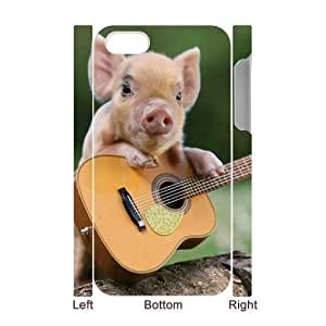 ALICASE Design Diy hard Case Pig For Apple Iphone 4/4S Case Cover [Pattern-1]