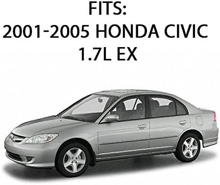 Catalytic Converter compatible with Honda Civic 01-05 VTEC Eng.//VTEC-E Eng.