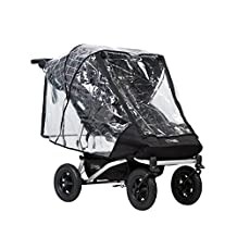 Mountain Buggy Duet Double Cover, Clear