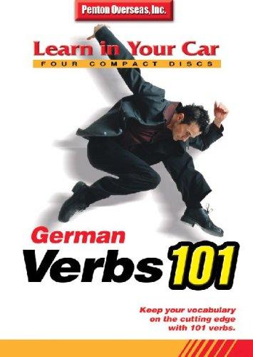 German Verbs 101 (Learn in Your Car) (German Edition)