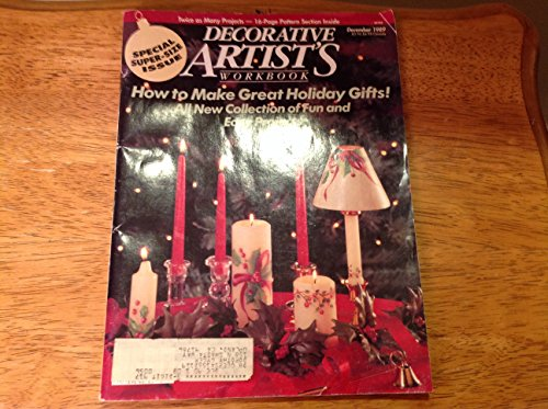 - Decorative Artist's Workbook (December 1989, Volume 16, Number 6)