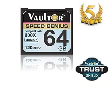 64 GB 800X VAULTOR tarjeta de memoria COMPACT FLASH ...