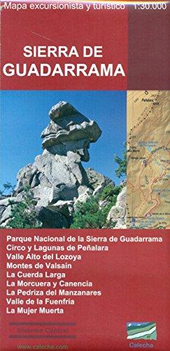 Sierra de Guadarrama : mapa excursionista y turístico