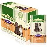 James Wellbeloved 10 x 150g Turkey and Rice Senior Dog Pouches
