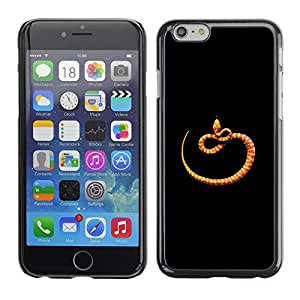 Plastic Shell Protective Case Cover    Apple iPhone 6 Plus 5.5    Minimalist Snake Nature @XPTECH