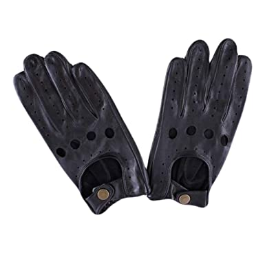 ae5b4ad8e6a Dents Mens Delta Leather Driving Gloves - Black