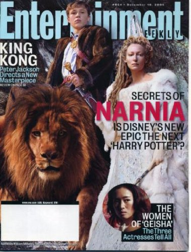 Tilda Swinton & William Moseley/The Lion The Witch and The Wardrobe Cover Entertainment Weekly Magazine December 16, 2005 - Secrets of Narnia