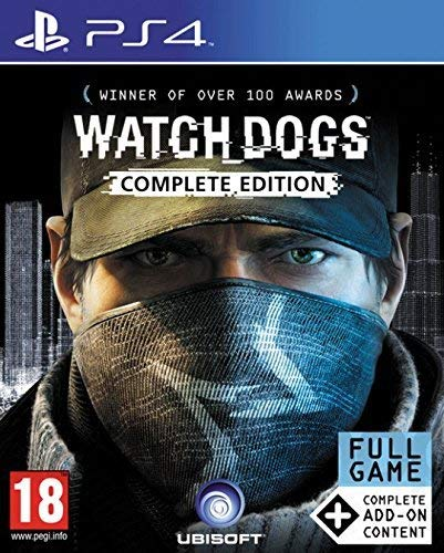 Watch Dogs Complete Playstation 4 product image