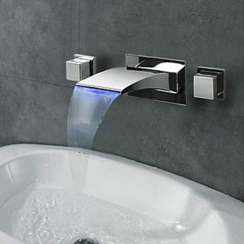 Nordic Minimalist Wall Mounted Bath Taps Bathroom Sink Taps Basin Mixer Taps Bathroom Concealed Wall Mounted Basin Taps Hot And Cold Copper Chrome A Amazon Co Uk Diy Tools