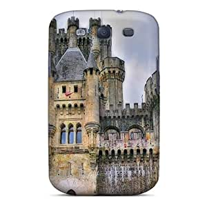 Frankqsmigh Fashion Protective Great Castle In Spain Hdr Case Cover For Galaxy S3