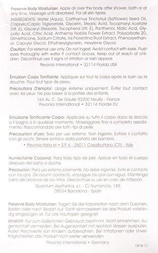 Pevonia Preserve Body Moisturizer, 6.8 Ounce