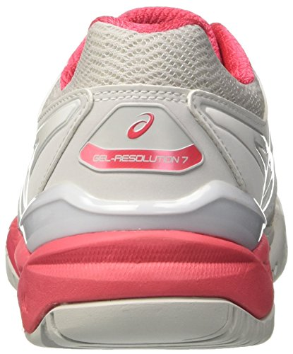 Red resolution 7 Gris Tennis De Femme glacier rouge white Grey Chaussures Asics Gel 6Fa1xf