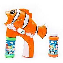 Fun Central R382 LED Light Up Bubble Gun - Fish