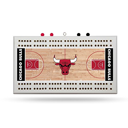 Rico Chicago Bulls NBA Licensed 2 Track Cribbage Board by Rico