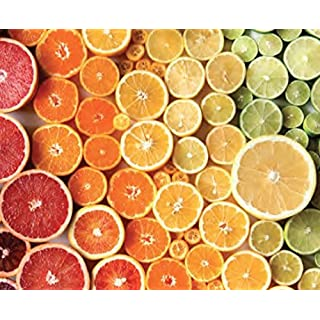 Citrus Gradient Puzzle by Brittany Wright - 750 Pieces