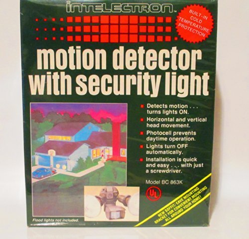 Motion Detector With Security Light [並行輸入品] B01LXN4ML2