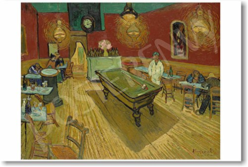 Vincent van Gogh - The Night Cafe 1888 - NEW Fine Arts Poster