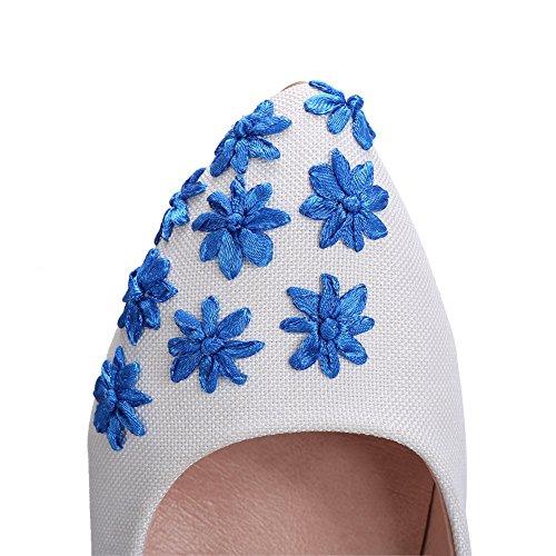 Inconnu 1TO9, Escarpins Pour Femme bleu foncé