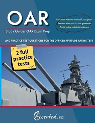 oar study guide oar exam prep and practice test questions for the rh amazon com