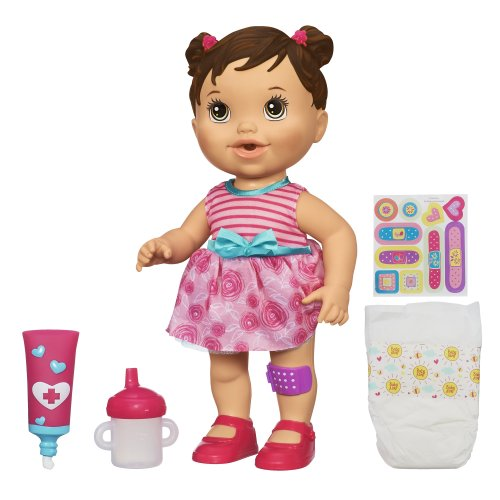 Baby Alive Baby Gets A Boo Boo Doll Brunette Import It All