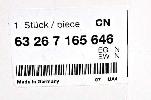 BMW OEM bombilla luz de matr/ícula Original Izquierdo = Derecho para E90/E39/X6/E60/E61