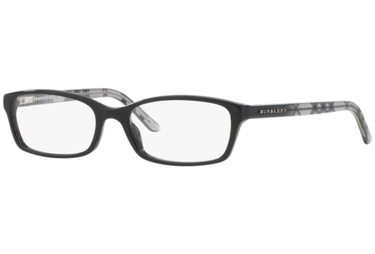 Burberry Women's BE2073.3164.53 Eyeglasses, Black, 53 mm