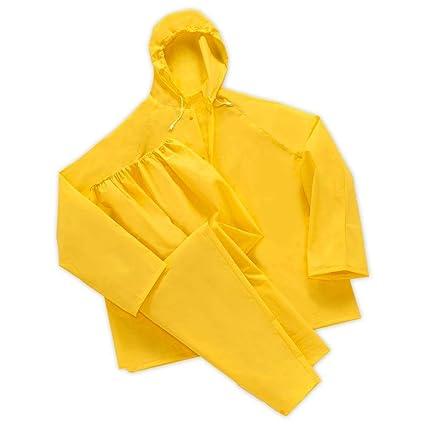 Amazon.com: Master Gear Lluvia traje impermeable de 2 piezas ...